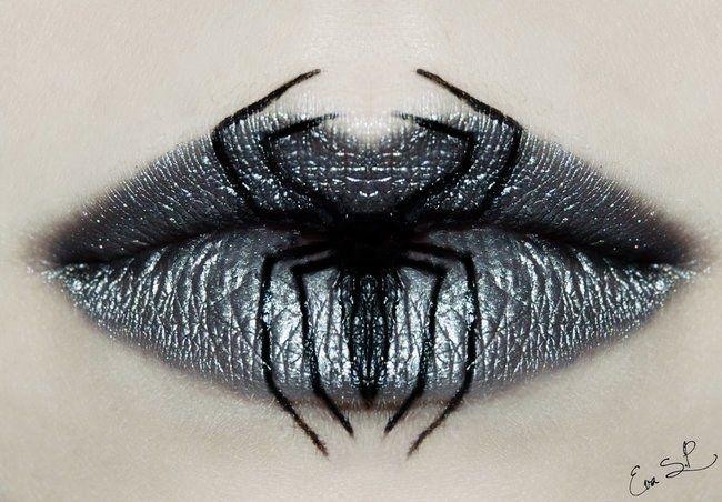 Lip art : Un maquillage de la bouche pour Halloween terrifiant et beau