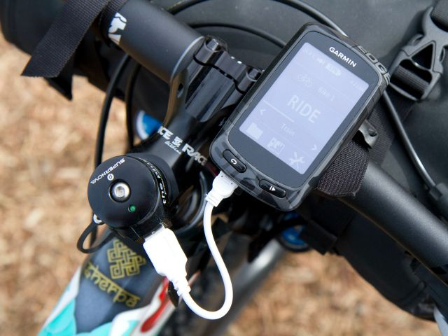 ThePlug III dynamo USB charger lets you use pedal power to charge your USB powered devices while biking.