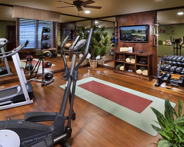 modern gym for the home