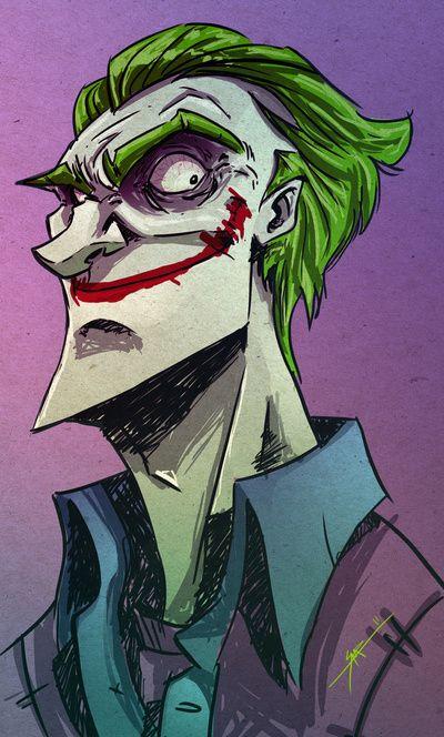 I'm pretty sure this is digital art but I love this interpretation of my favorite villain <3