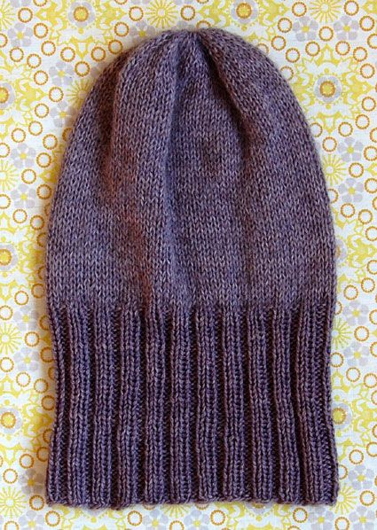 Whit's Knits: Simple PleasuresHat - The Purl Bee - Knitting Crochet Sewing Embroidery Crafts Patterns and Ideas!