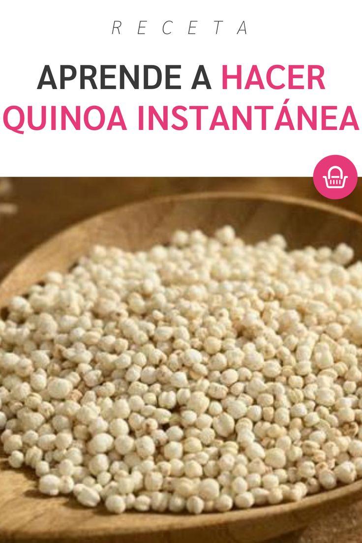 ¡Es delicioso y saludable! Cereal, Breakfast, Ideas, Food, How To Prepare Quinoa, Baskets, Wellness, Healthy, Magick