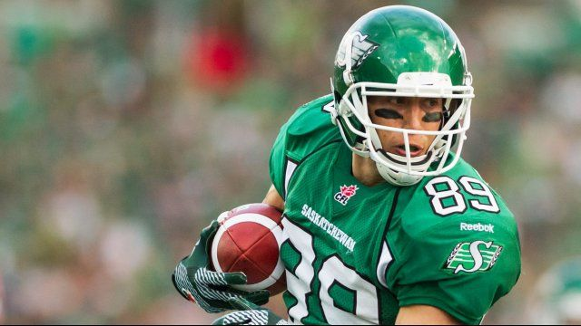 Getzlaf Named Player of the Week | Saskatchewan Roughriders