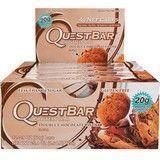 Протеиновые батончики QuestBar - Шоколадный Брауни- 20 г белка • 14 г пищевых волокон • без сахара