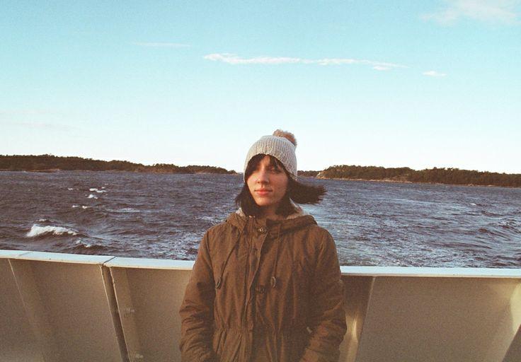 sea girl stockholm archipelago /kodak portra 800/