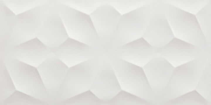 3D Diamond White matt 40x80 Wandfliese