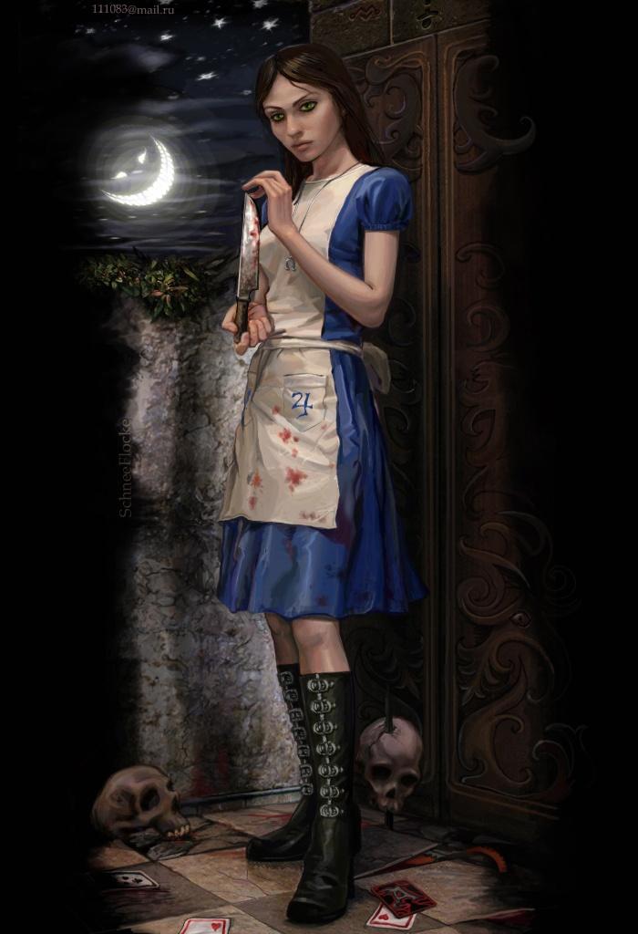 Ond Alice I Wonderland Spil