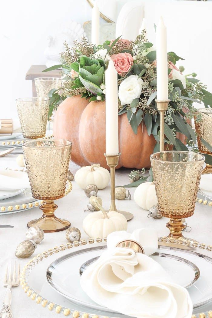 DIY Pumpkin Centerpiece | Rooms FOR Rent Blog