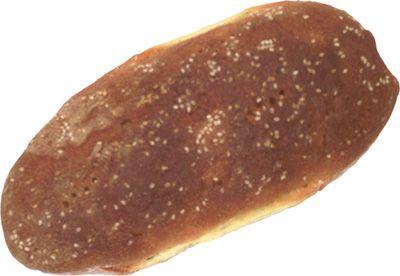 CUSUZZA di Marineo (PA) Pagnotta allungata di dimensioni 18-30 cm di lunghezza, 7 cm circa di altezza. Peso 1/2 Kg Struttura Compatta. Componenti: Semola, lievito naturale (biga) e/o birra, acqua, sale, sesamo La forma da un chilo è chiamata vastidduni altri nomi sono pani, pani di casa e pani tunnu, mentre quella da 1/4 di Kg è detta quartino