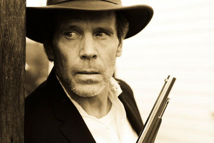 """Grant Goodeve as Frank James in """"The Shootout"""""""