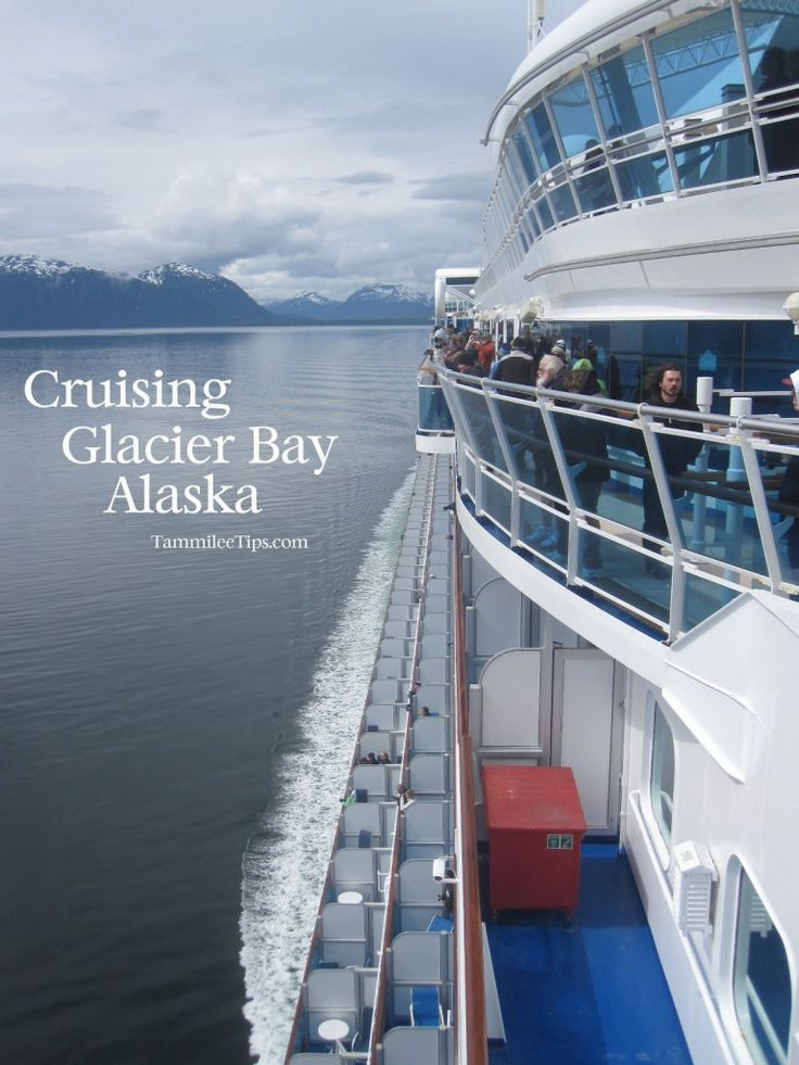Cruising Glacier Bay on a cruise ship, amazing and cold!