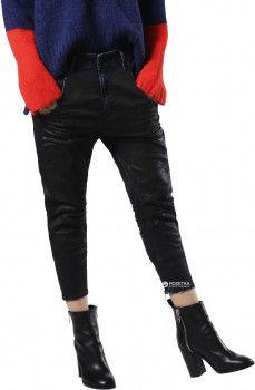 Джинсы Diesel Fayza-Ne Sp Sweat Jeans 00SWCY/0680M 25 Темно-синие (8058981781427)
