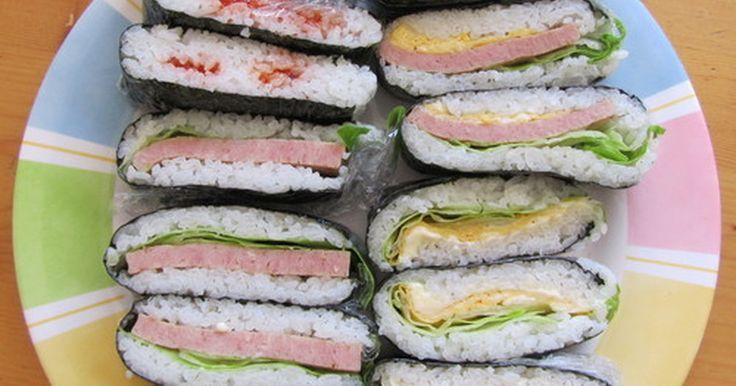 おにぎどいっちです! お弁当より簡単~ ちょっと豪華に見えるのでお弁当に便利! 子供もパクパク♪ 「おにぎらず」か~