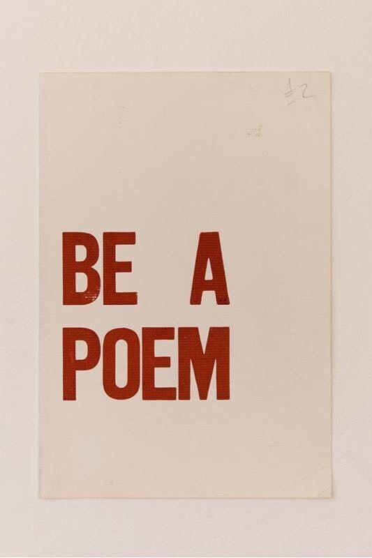 Je veux être ton poème! °○°