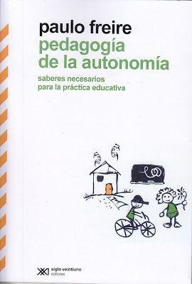 LIBRO: PEDAGOGÍA DE LA AUTONOMÍA EN PDF