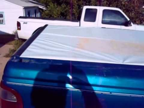 Diy Trifold Tonneau Cover Homemade Truck Hacks