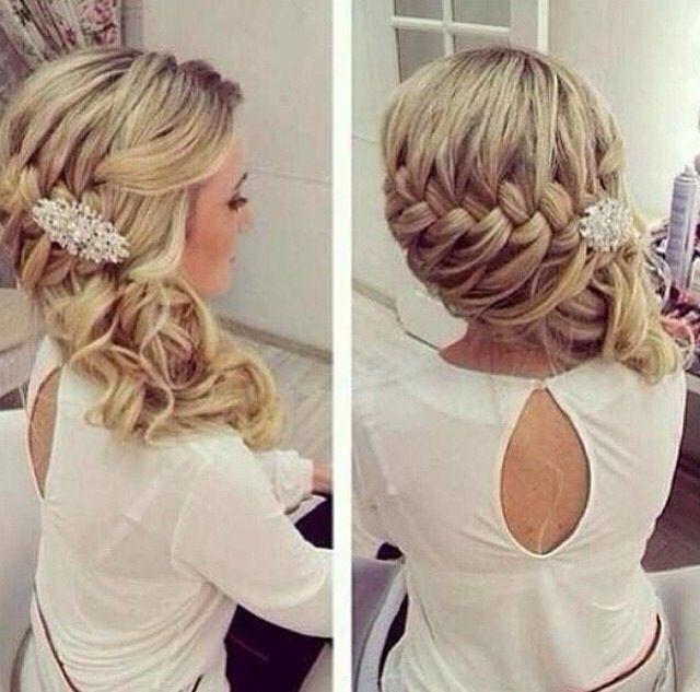 Love this hair style idea