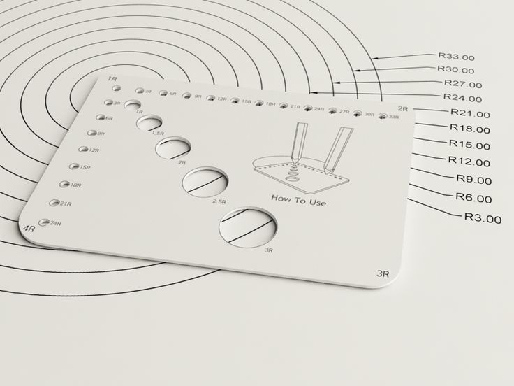 Mini Template Ruler by SEUNG JUN JEONG