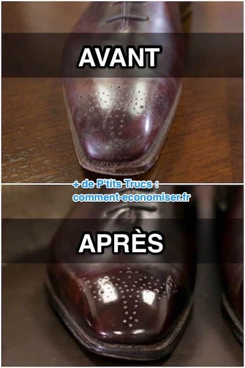 L'Astuce Incroyable Pour Redonner de l'Éclat Aux Chaussures en Cuir Vernis.