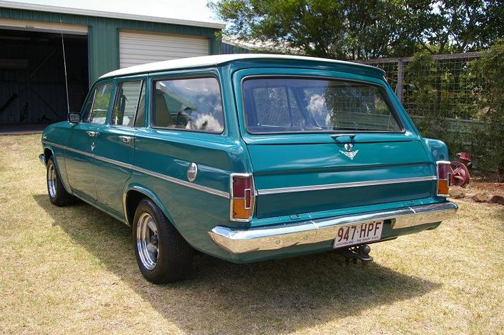 Another classic example of the EH Holden wagon - for more info on the wagon come to http://carworldnetwork.com/1964-eh-holden-station-wagon/