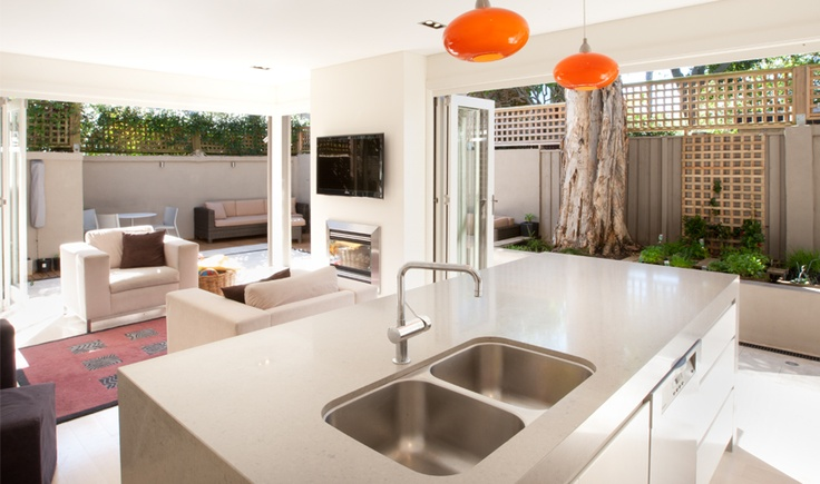 Small House Architecture -  #Small #house with big space. Wales Residence, Woolahra, New South Wales by The Quinlan Group