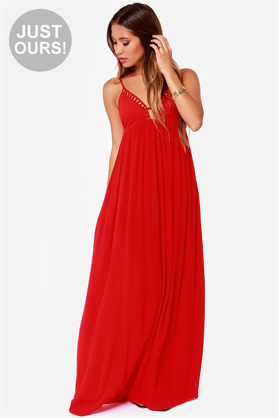 17 best ideas about Red Maxi Dresses on Pinterest | Red maxi, Maxi ...