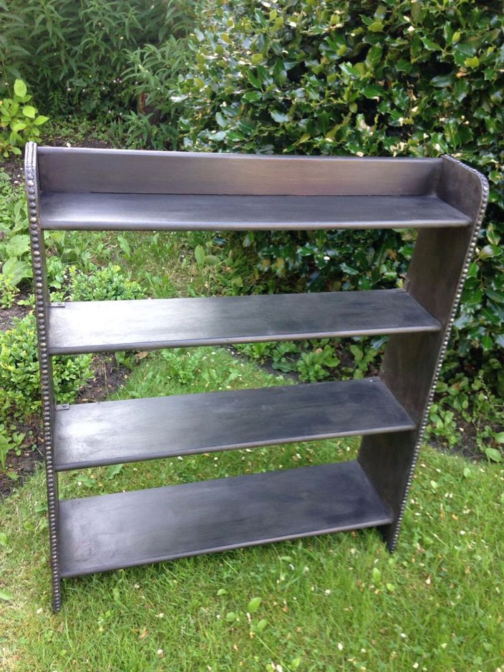 Graphite Black Bookcase