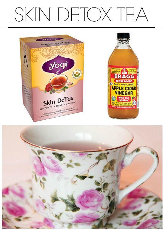 Detox tea acne