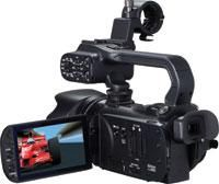 This Canon XA 10 pro camcorder is the entry into the quality professional Canon range. It is an awesome little camera shooting full HD and packed with features.