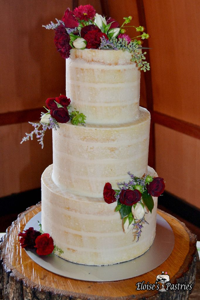 Naked Wedding Cakes Are Appropriate For Weddings In Any Season Eloises Pastries Offers A Wide Variety Of Flavors And Fillings Can Make You The