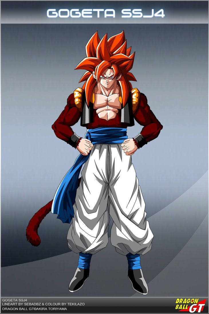 Dragon Ball GT - Gogeta SSJ4 OV by *DBCProject on deviantART