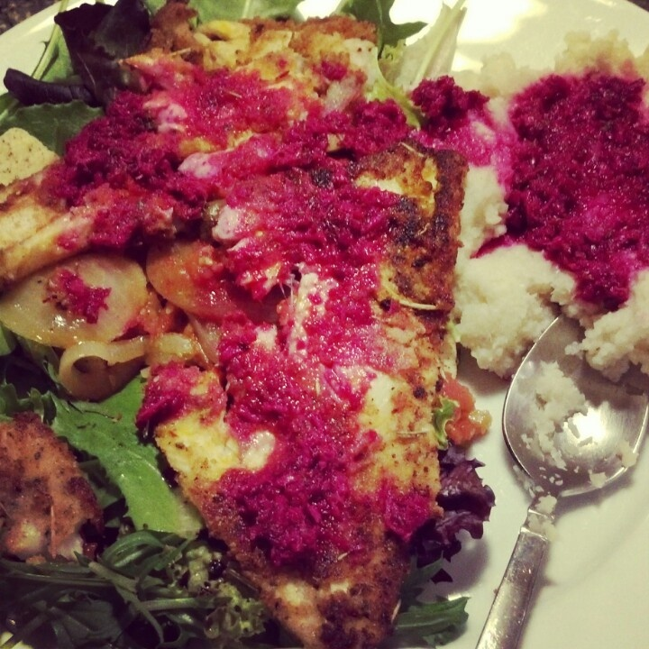 Mashed cauliflower, Dovers and Beets on Pinterest