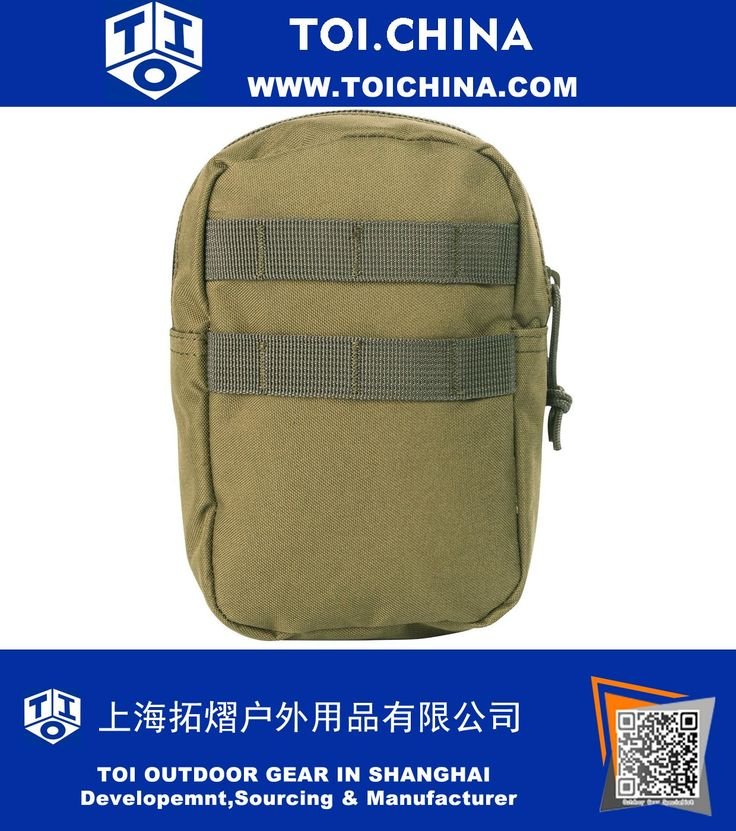 MOLLE Accessory Pouch, MOLLE and PALS Compatible, Tactical Gear, Multi-Purpose Pouch, TY-EM069