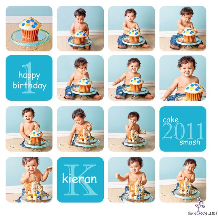 Idea for Benjamin's First Birthday Invite