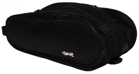 Love Golf Shoe Bags? Here's our  Black Mesh Glove It Ladies Golf Shoe Bag! Find plenty of Golf Accessories here at #lorisgolfshoppe