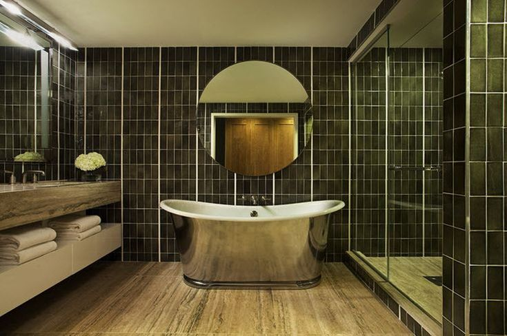 Best 25+ Dark Green Bathrooms Ideas On Pinterest