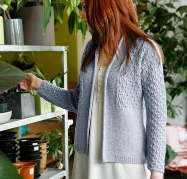 Cerisara Cardigan Sweater Kniting Kit