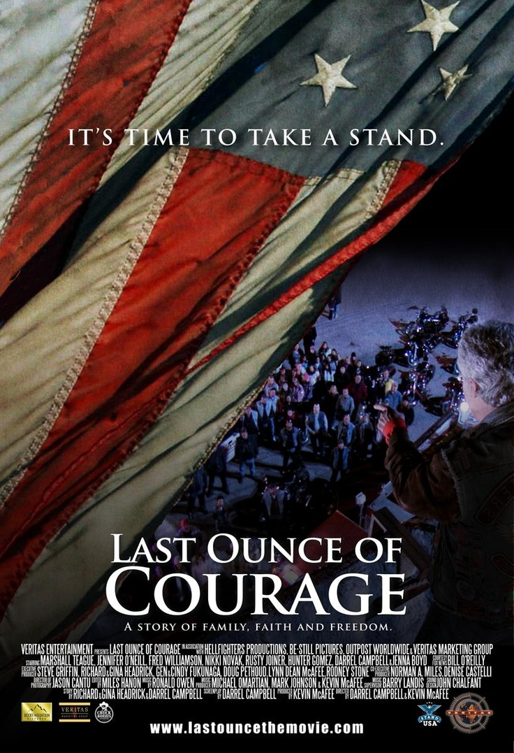 """Last Ounce of Courage - Rotten Tomatoes  (So far, the """"critics"""" are panning this one.  It must be excellent.)"""