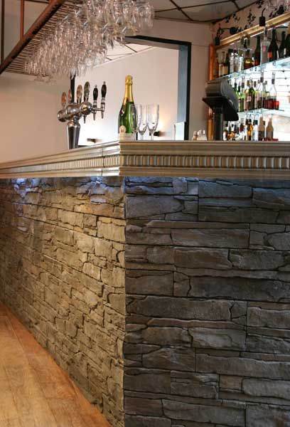Mer enn 25 bra ideer om Steinwand verblender på Pinterest - steinwand beige wohnzimmer
