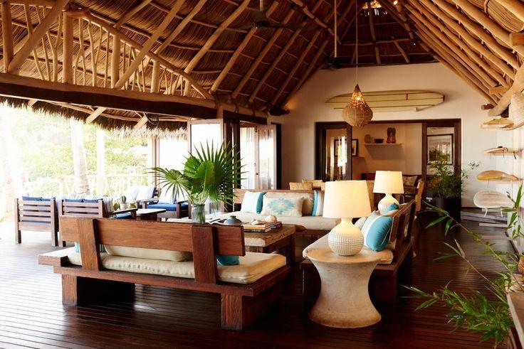Échale un vistazo a este increíble alojamiento de Airbnb: Luxury beachfront bungalow - Casas en alquiler en Sayulita