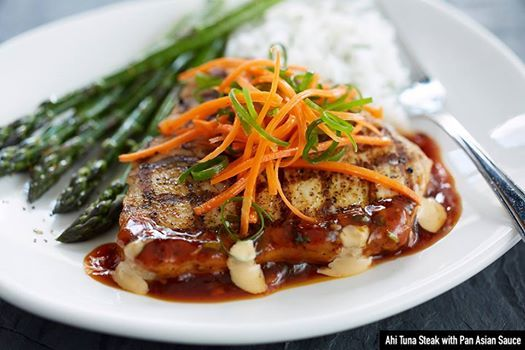 Our Ahi Tuna Steak will melt in your mouth. Seriously. Bonefish Grill Coupons http://anncoupons.com/restaurantscoupons/item/bonefish-grill-coupons