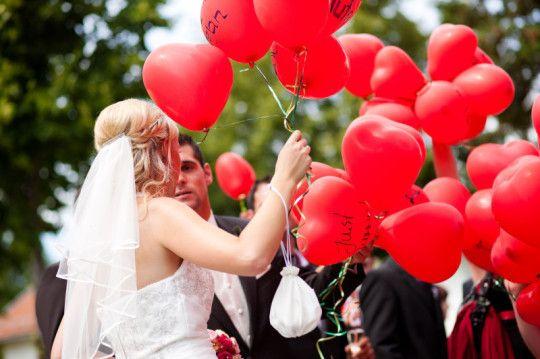 Heliumballone und Weitflüge zur Hochzeit oder anderen Anlässen - BallonMobil, Mobile Ballondeko, Goslar, Braunschweig, Wolfenbüttel, Salzgitter, Wolfsburg
