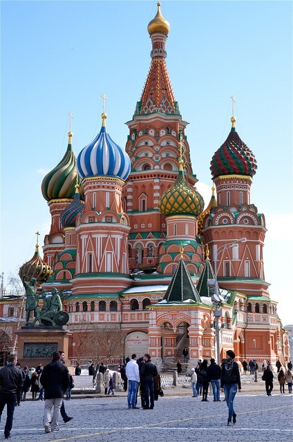Saint Basil's Cathedral by PipingHotPapers, via Flickr