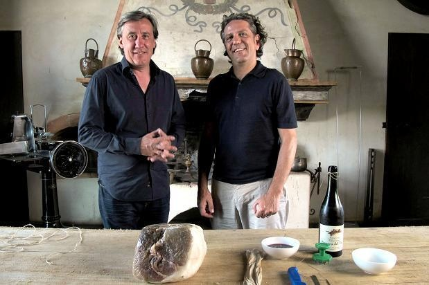 Italy Unpacked, BBC TV Show:  travel through Italy exploring the country's history, culture, food, art and landscape