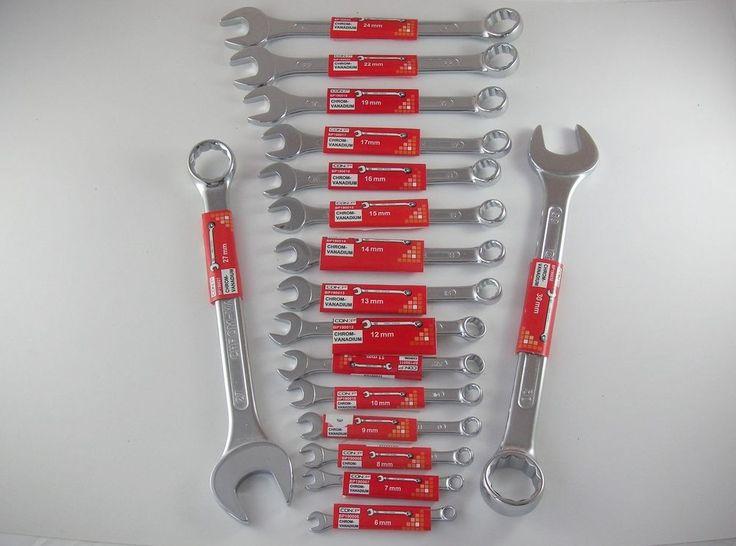 CONP-RM* Ring-Maulschlüssel SW 6-32, CV, DIN3110A, Schraubenschlüssel,Gabel-Ring