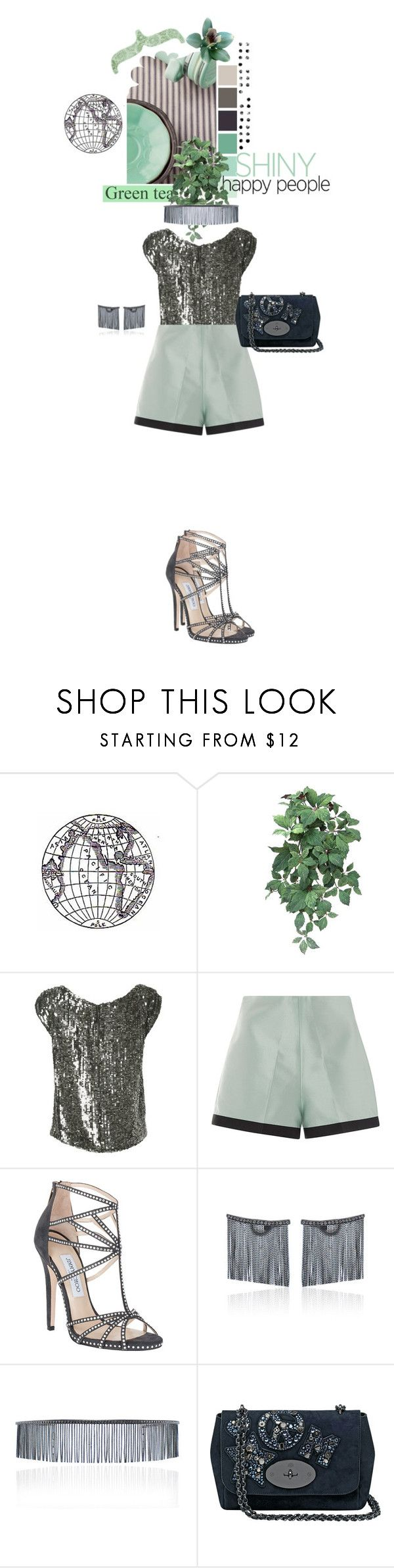 """""""2174.Shiny happy people"""" by silvinadupuywriter ❤ liked on Polyvore featuring Seed Design, PAM, éS, Daphne, Leal Daccarett, Jimmy Choo, Jack Vartanian and Mulberry"""
