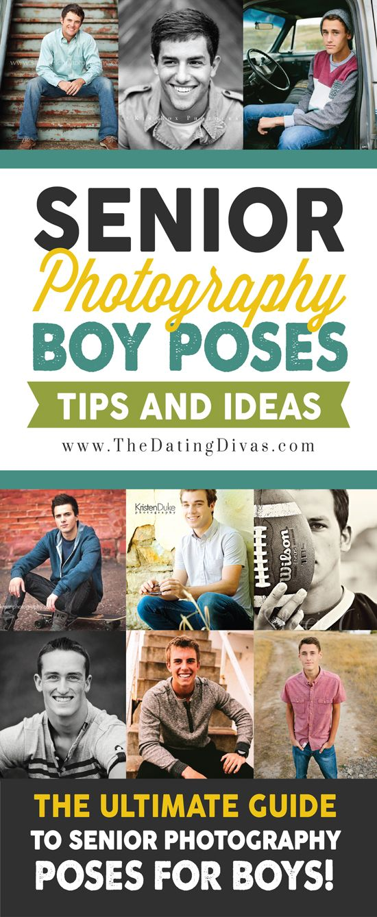 This is the ULTIMATE senior photography posing guide for guys! I LOVE these strong and masculine ideas! This will be so helpful! www.TheDatingDivas.com