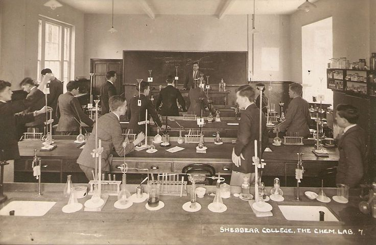 An old science lab