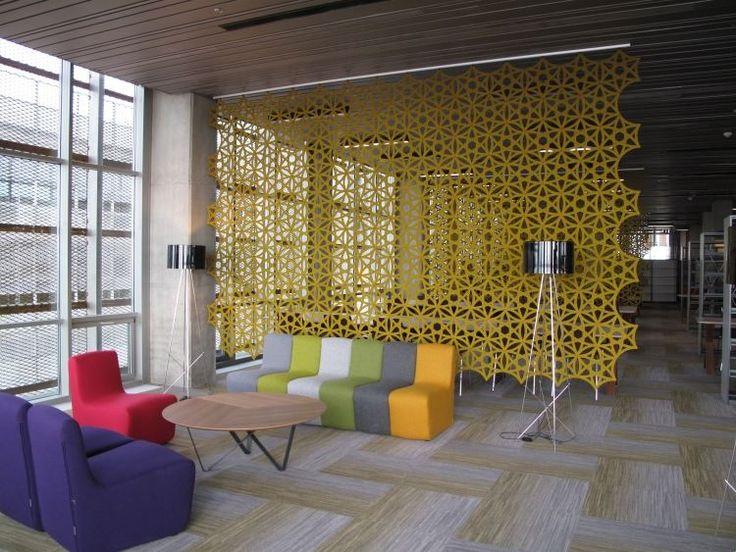25 Design Schallabsorber und dekorative Trennwände