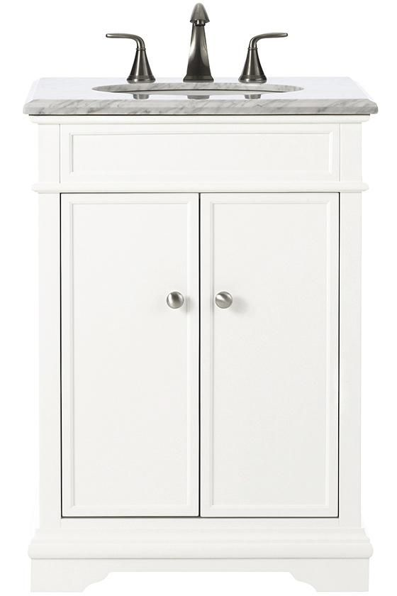 Photo Gallery For Website Home Decorators Collection Belvedere in D Bath Vanity in White with Natural Marble Vanity Top in The Home Depot